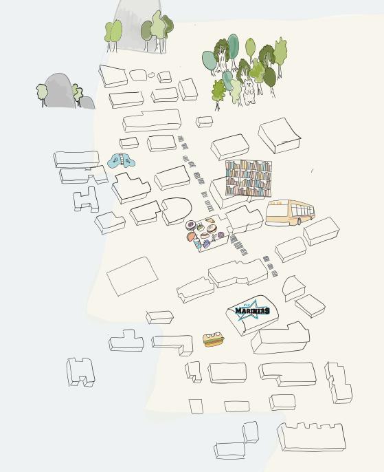 Illustrated VIU map